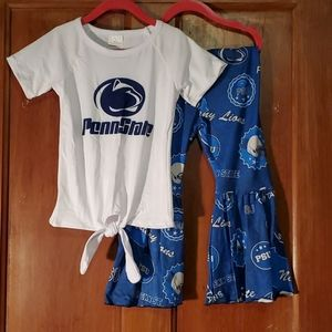 NEW Penn State PSU Nittany Lions 2 Piece Set